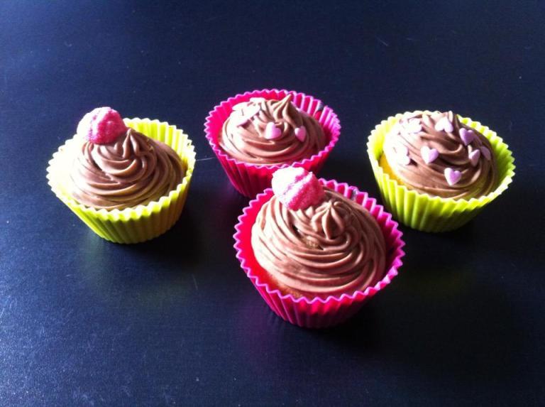 Mes premiers cupcakes !