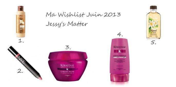 Wishlist Juin 2013