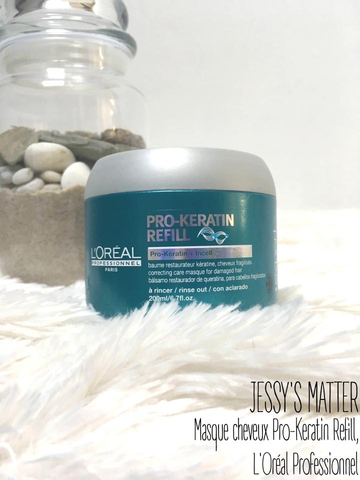 Masque cheveux Pro-Keratin Refill, L'OréalProfessionnel
