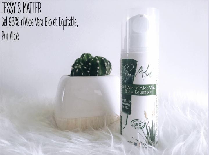 Gel 98% d'Aloe Vera Bio et Équitable, PurAloé